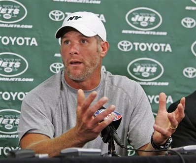 Brett Favre To Be Fined, Not Suspended For Propositioning Jenn Sterger
