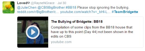 Big Brother 18 Spoilers: Extreme Bullying of Bridgette on