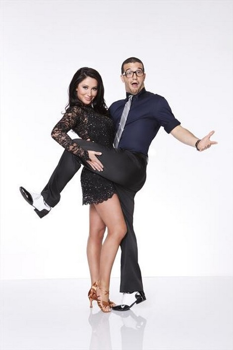 Bristol Palin Dancing With The Stars All-Stars Cha-Cha-Cha Performance Video 9/24/12