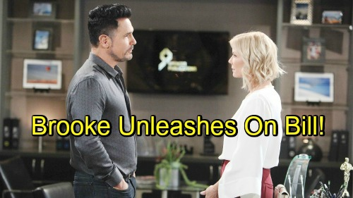 The Bold and the Beautiful Spoilers: Brooke Still Furious About Lope Demise – Unleashes on Scheming Bill