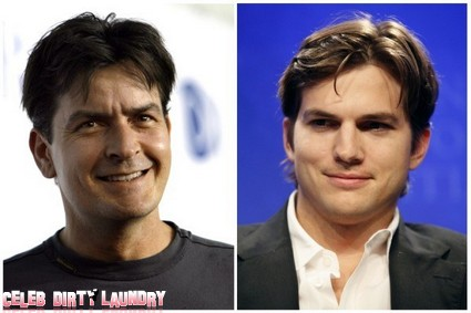 Charlie Sheen Apologizes For Bad-Mouthing Ashton Kutcher