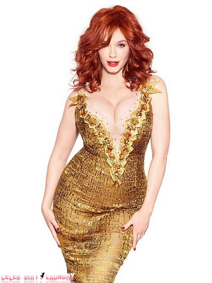 Mad Men's Christina Hendricks Is Busting Out (Photo)