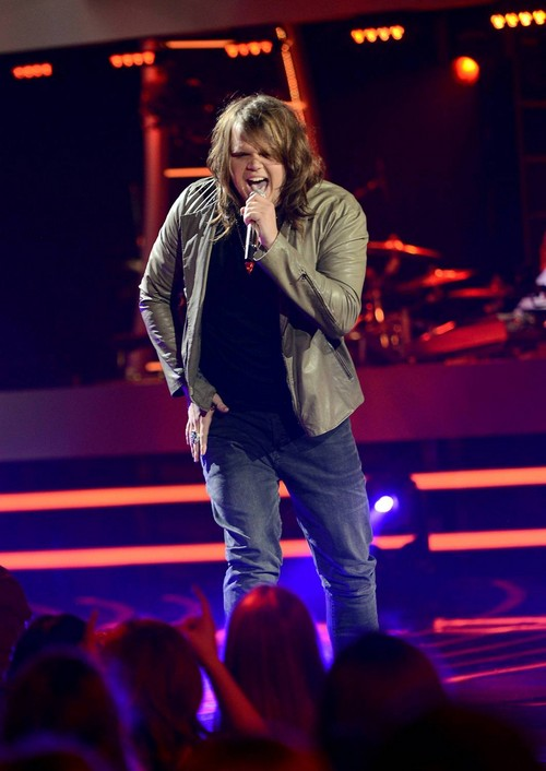 "Caleb Johnson American Idol ""Faithfully"" Video 4/9/14 #IdolTop8"