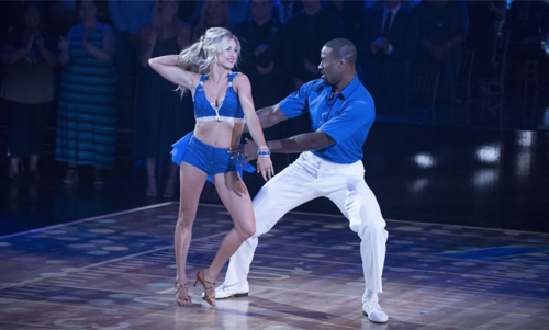 Calvin Johnson Jr Dancing With The Stars Foxtrot Video Season 23 Week 2 – 9/19/16 #DWTS