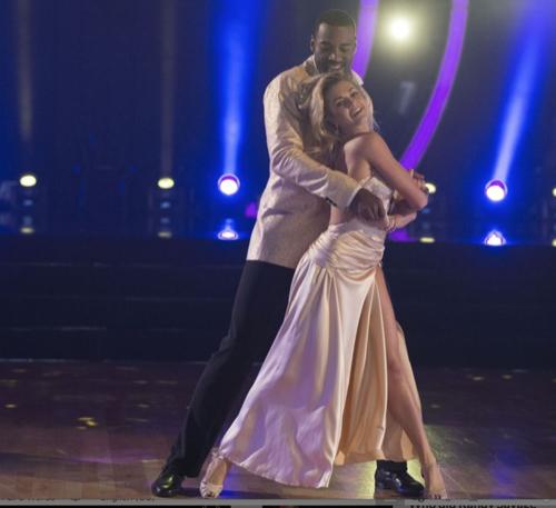 Calvin Johnson Jr Dancing With The Stars Show Stopping Waltz Video: Season 23 Week 9 – 11/7/16 #DWTS