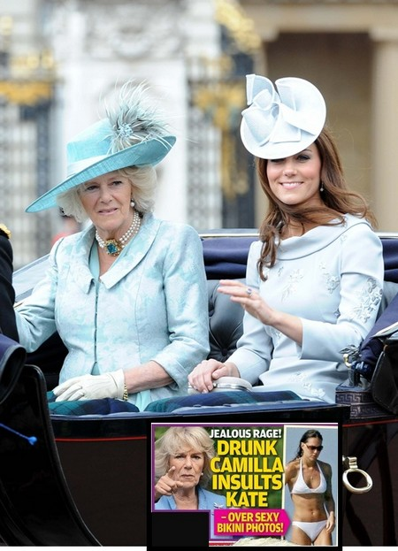 Camilla Parker-Bowles Insults Kate Middleton's Bikini Body Pics 0725