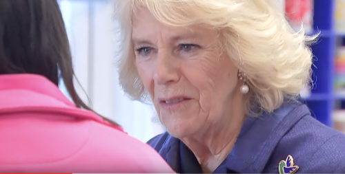 Camilla Parker-Bowles Visits Female Prisoners, Learns About Rehab Program