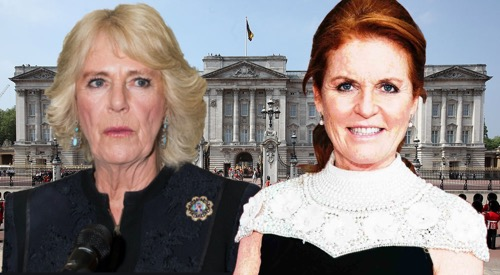 Camila Parker-Bowles Feuding With Prince Andrew's Ex-Wife Fergie?