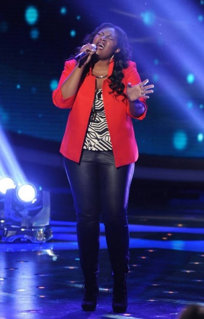 "Candice Glover American Idol ""You've Changed"" Video 5/1/13"