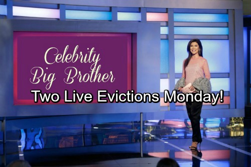 Celebrity Big Brother US Spoilers: Two Live Evictions Scheduled For Monday's CBBUS Show - See Who's Leaving
