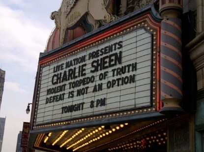 Charlie Sheen Not Winning Anymore - As His First Show Bombs