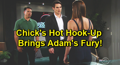 The Young and the Restless Spoilers: Chelsea and Nick's Hot Hookup Brings Adam's Fury – Vicious Brother Battle Gets Worse