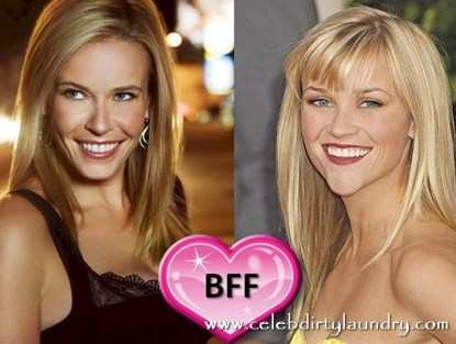 Chelsea Handler and Reese Witherspoon BFF's?