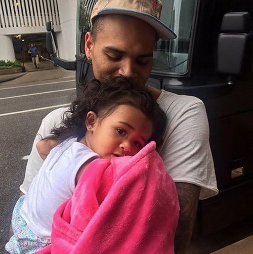 Chris Brown Changed Man For Daughter Royalty: Stopped Partying and Smoking?