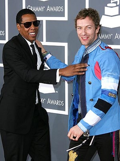 Chris Martin And Jay-Z Are Tight Bro's!