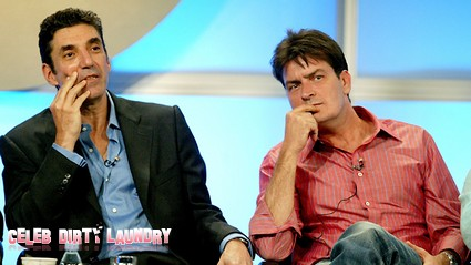 Chuck Lorre Falsely Claims Charlie Sheen Was Fired For His Own Good
