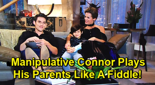 Young And The Restless Spoilers: Adam Newman (Mark Grossman) - Chelsea Newman (Melissa Claire Egan) - Connor Newman (Judah Mackey)