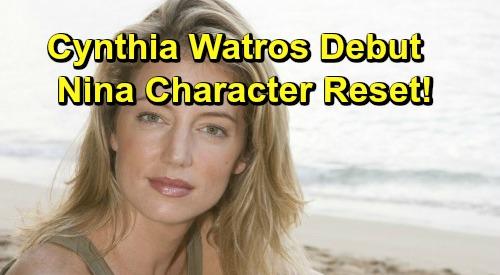 General Hospital Spoilers: Michelle Stafford's Exit Creates New Nina – Cynthia Watros' Debut Brings Character Reset