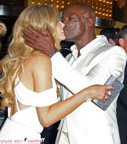 Heidi Klum's Ex Seal Gets Cosy With Blonde TV Co-Star In Australia (Photos)