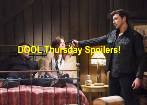 Days of Our Lives (DOOL) Spoilers: Deadly Cabin Drama Climax - Lani and JJ Desperate Search For Abigail
