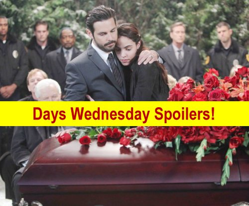 Days of Our Lives (DOOL) Spoilers: Salem Says Final Goodbye to Bo – Shawn Leaves Town – Abigail Begs Ben to Spare Her Life