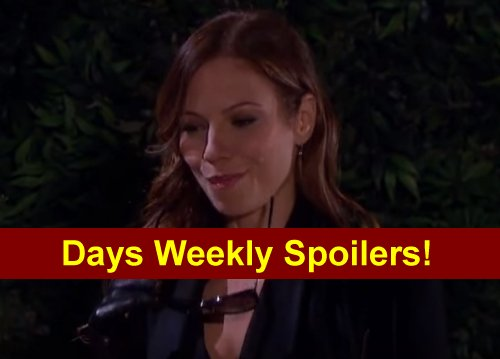 Days of Our Lives (DOOL) Spoilers: Evil Ava Plots with Joey – Steve and Kayla in Danger - Philip Shakes Up Brady, Titan