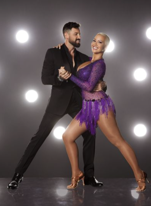 Amber Rose Dancing With The Stars Foxtrot Video Season 23 Week 1 – 9/12/16 #DWTS