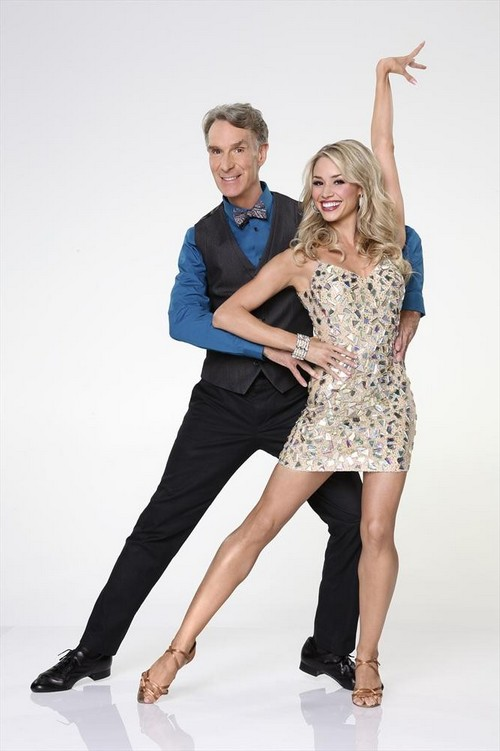Bill Nye Dancing With the Stars Foxtrot Video 9/16/13