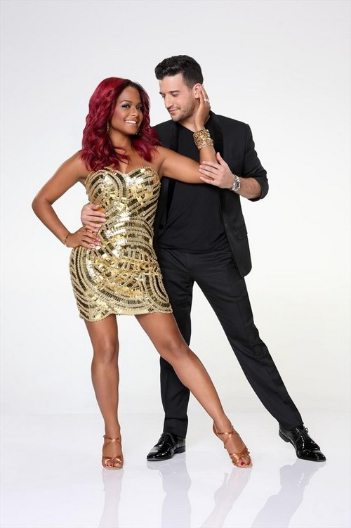 Christina Milian Dancing With the Stars Contemporary Video 9/16/13