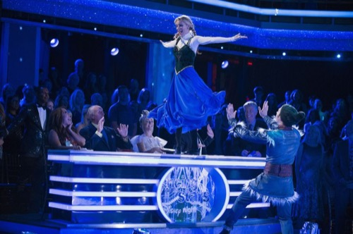 Heather Morris Dancing With The Stars Rumba Video Season 24 Episode 6 – 4/24/17 #DWTS