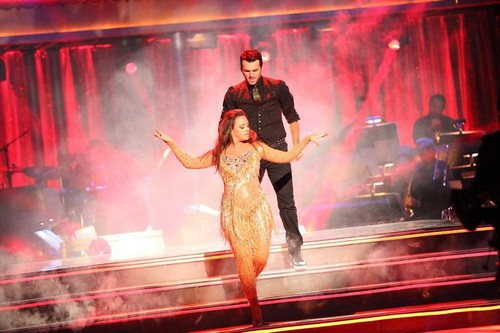 Leah Remini Dancing With the Stars Contemporary Video 10/14/13
