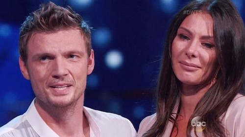 Nick Carter and Pregnant Wife Lauren Kitt Learn Baby's Gender Live On Dancing With The Stars