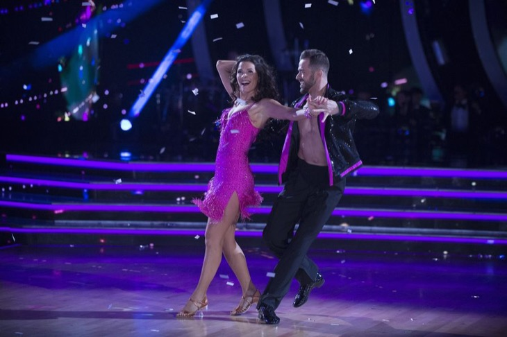 Nancy Kerrigan Dancing With The Stars Samba Video Season 24 Episode 3 – 4/3/17 #DWTS