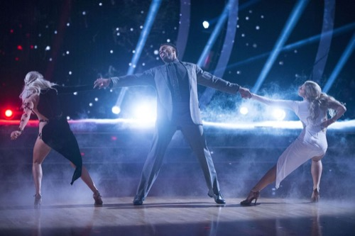 WATCH Rashad Jennings Dancing With The Stars Semi-Finals Quickstep Video: Season 24 Episode 9 #DWTS