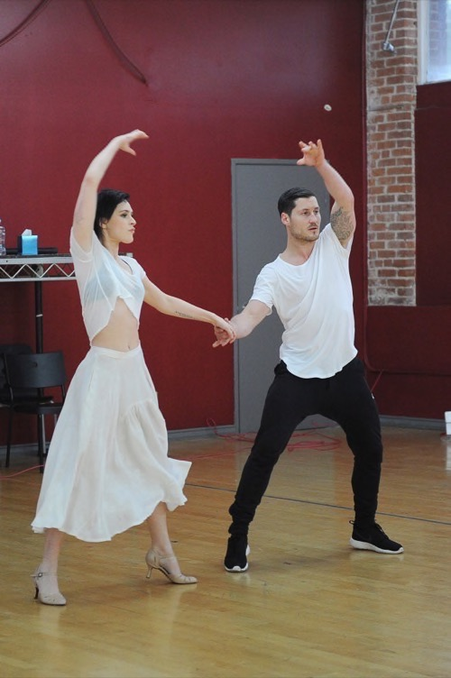 Rumer Willis Dancing With The Stars Foxtrot Video Season 20 Premiere 3/16/15 #DWTS