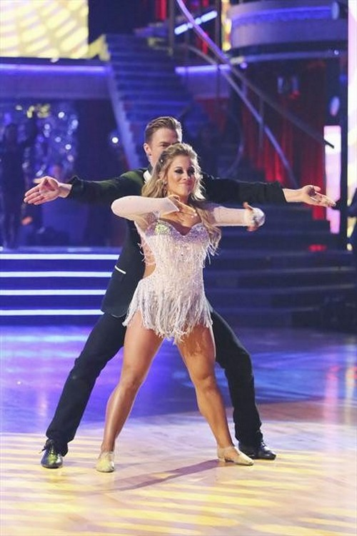 Shawn Johnson Dancing With the Stars Instant Dance Video 11/27/12