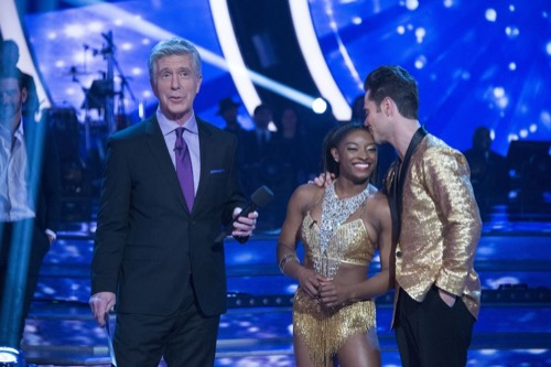 Simone Biles Dancing With The Stars Quickstep Video Season 24 Episode 3 – 4/3/17 #DWTS