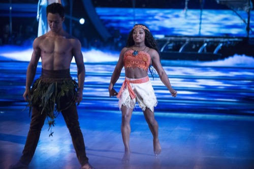 Simone Biles Dancing With The Stars Samba Video Season 24 Episode 6 – 4/24/17 #DWTS