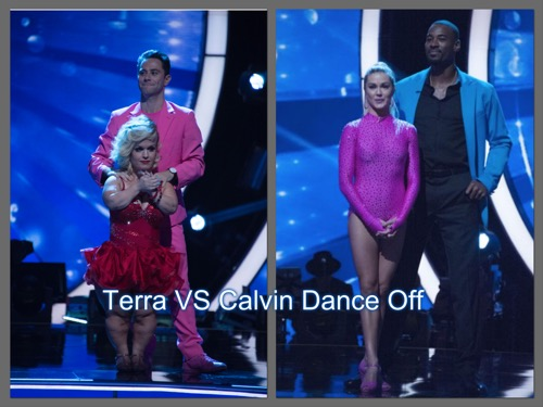 Calvin Johnson Beats Terra Jolé: Dancing With The Stars Viennese Waltz Face-Off Video Season 23 Week 3