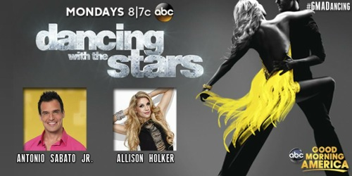 Antonio Sabato Jr. and Allison Holker Dancing With The Stars Bollywood Video Season 19 Week 5 #DWTS