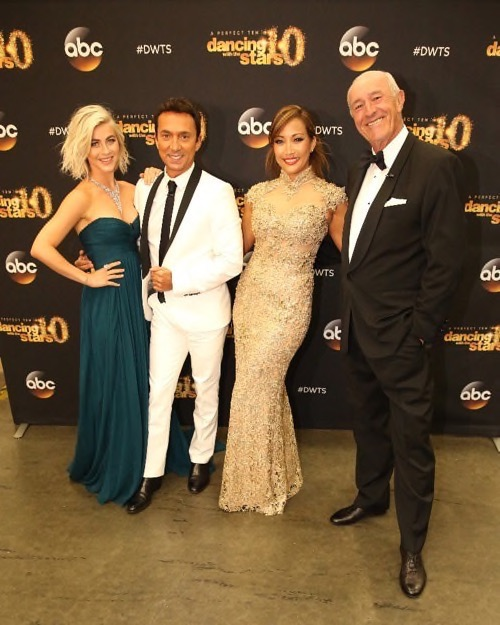 "Dancing With the Stars 2015 Recap Nastia Liukin and Derek Hough Eliminated Season 20 Episode 9 ""Results Show"""