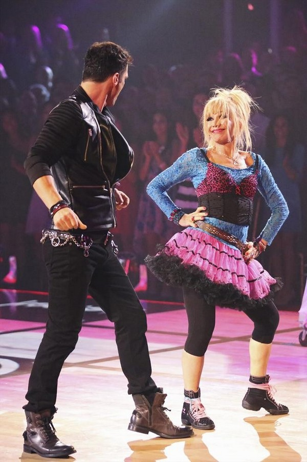 Betsey Johnson & Tony Dovolani Foxtrot Video Dancing With the Stars Season 19 Week 2 9/22/14 #DWTS