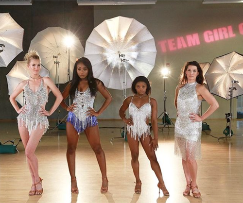 Team Girl Group Dancing With The Stars Team Dance Video 4/24/17 #DWTS #TeamGirlGroup