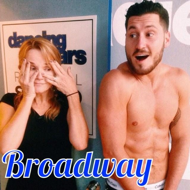Lea Thompson and Val Chmerkovskiy Dancing With The Stars Broadway Video Season 19 Week 5 #DWTS