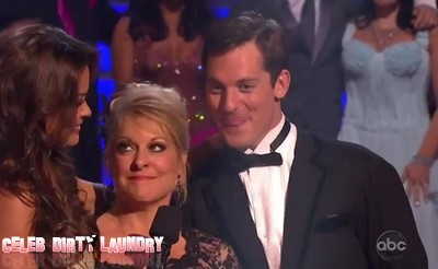 Nancy Grace's Dancing With The Stars Elimination Video