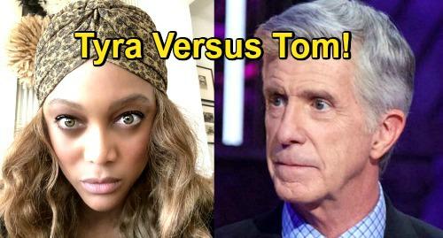 Dancing With the Stars Spoilers: Tom Bergeron vs Tyra Banks - Derek Hough Gets Honest