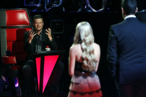 "Danielle Bradbery & Blake Shelton The Voice Finale ""Timber, I'm Falling in Love"" Video 6/17/13"