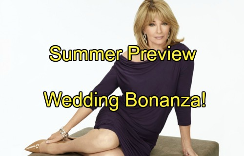 Days of Our Lives (DOOL) Spoilers: Summer Preview - Wedding Bonanza Ahead, Huge Surprises in Store