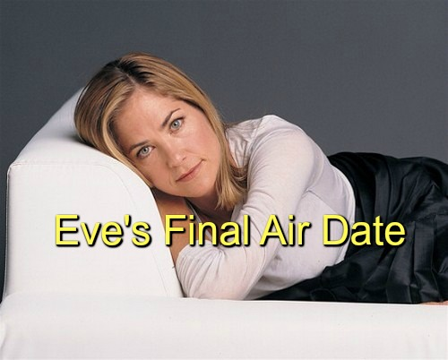 Days of Our Lives (DOOL) Spoilers: Kassie DePaiva's Final Air Date - Belle Rips Into Eve Over Claire, Sets Up Feb. 2 Exit