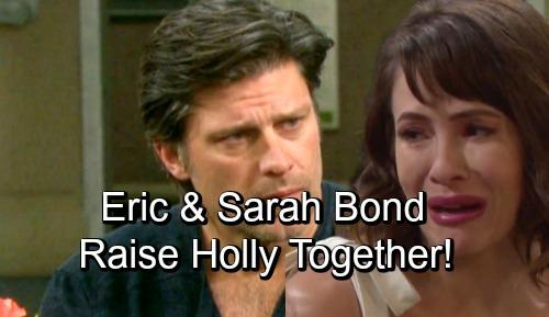 Days of Our Lives Spoilers: Eric and Sarah Bond Over Grief - Sarah Wants To Help Raise Holly - New Salem Couple